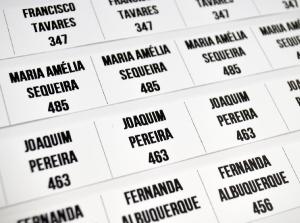 Etiquetas personalizadas para roupa com nome numero logotipo